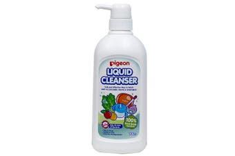 Pigeon 700ml Liquid Cleanser/Soap for Baby Teat/Bottles/Toys/Fruit/Vegetables