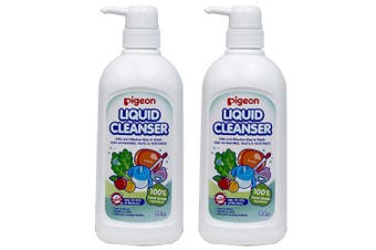 Pigeon 1.4L Liquid Cleanser/Soap for Baby Teat/Bottles/Toys/Fruit/Vegetables