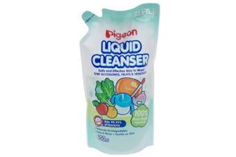 Pigeon 650ml Liquid Cleanser Refill Baby Soap Teat/Bottles/Toys/Fruit/Vegetables
