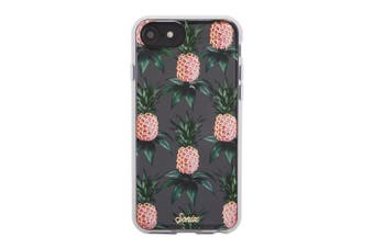Sonix Clear Hard Cover Shockproof Case For iPhone 7/8/6s Pink Pineapple