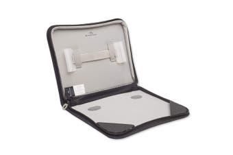 """Brenthaven Tred Zip Folio Case Sleeve Carry Pouch for 11"""" Laptop/Notebook Black"""
