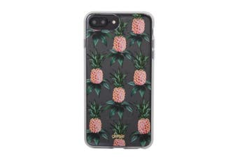 Sonix Clear Hard Cover Shockproof Case For iPhone 7 Plus/8 Plus Pink Pineapple