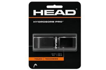 Head HydroSorb Touch/Tackiness Pro Replacement Grip f/ Rackets/Racquets Black