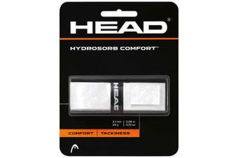Head HydroSorb High Comfort/Tacky Replacement Grip f/ Rackets/Racquets White
