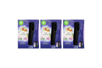3PK Air Wick Freshmatic Mystical Garden Automatic Spray Air Freshener Fragrance