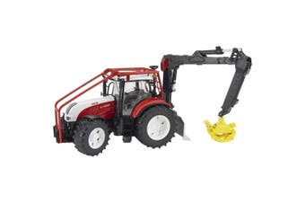 Bruder Steyr CVT 43.5cm  6230 Forestry Tractor 1:16 Vehicle Toy/Model Kids 4y+