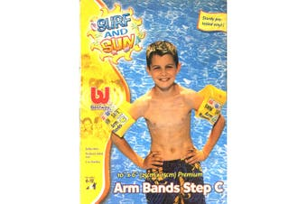Bestway 6-12y Inflatable Swimming Arm Band Ring Swim Safe Pool Kids Water Float