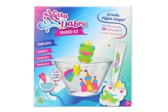 8pc Aqua Dabra Fantasy Kit 3D Paint Toy w/Magic Water Frog/Castle/Star Mould 5y+