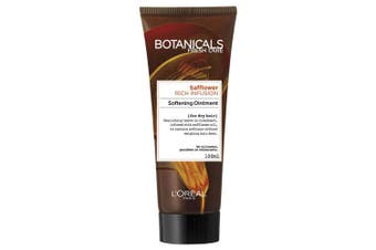 Loreal 100ml Botanicals Safflower Rich Infusion Softening Ointment f/Dry Hair