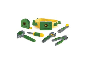 John Deere 35070 Deluxe Talking Tool Belt Sound/Wrench/Plier/Hammer/Screw driver