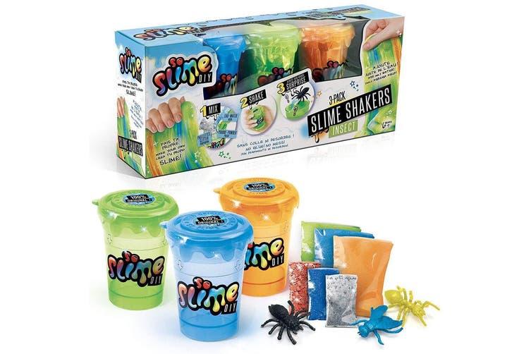 3PK So Slime DIY Craft Slime Shaker Glitter/Powder Maker Toys for Kids/Children