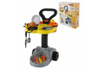Polesie BBQ Set Kids/Children Pretend Role Play Toy Barbecue Cooking Food Cart