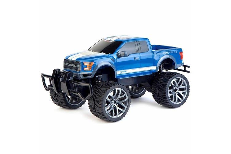 Carrera RC 1:14 Ford F-150 Raptor Off Road Kids 6y+ Toys w/ Remote Control Black