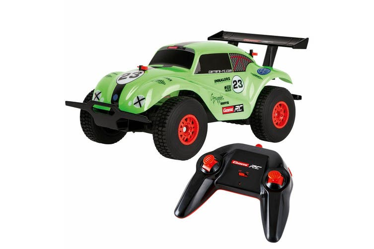 Carrera RC 1:18 VW Beetle Off Road Remote Control Toy Car 2.4 GHz Kids 6y+ Green