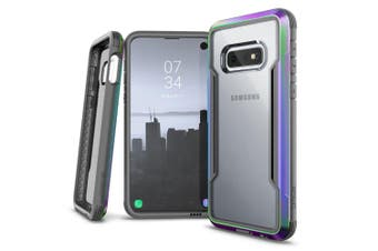 X-Doria Defense Drop Protect Shield Clear Case f/ Samsung Galaxy S10e Iridescent