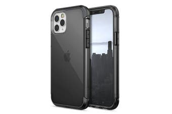 Raptic Air Phone Cover Drop Proof Hard Case for Apple iPhone 12 Pro Max Black