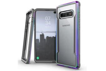 X-Doria Defense Drop Protect Shield Clear Case f/ Samsung Galaxy S10 Iridescent