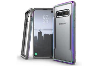 X-Doria Defense Protect Shield Clear Case f/ Samsung Galaxy S10+ Plus Iridescent