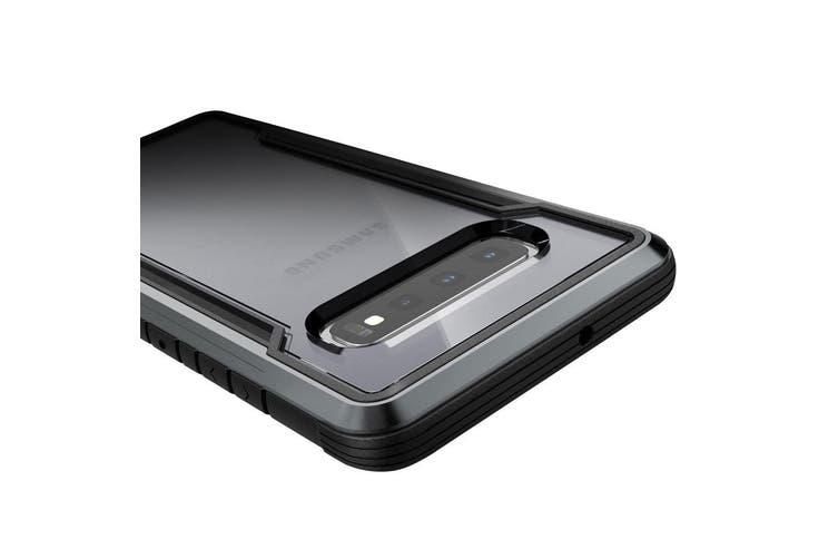 X-Doria Defense Drop Protection Shield Case Cover for Samsung Galaxy S10 Black