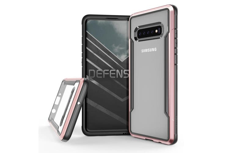 X-Doria Defense Shield Clear Case Cover Protector f/ Samsung Galaxy S10+ Plus RG