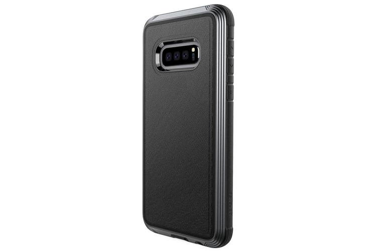 X-Doria Defense Lux Case Cover Drop Protector f/ Samsung Galaxy S10e Leather BLK