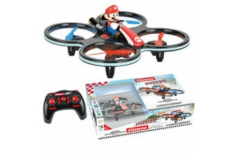 Carrera RC Drone Quadrocopter Mini Mario Remote Quad Copter DP Kids Toys 8y+
