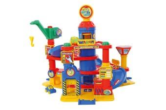 Wader 77cm Park Tower 4 Floors Garage w/Cars Kids/Children 3y+ Play Pretend Toy