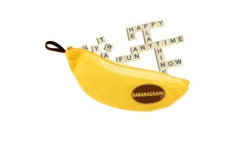 144pc Bananagrams Anagram Alphabet/Words/Letters Kids Spelling Family Board Game