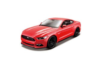 Maisto Tech 1:24 Assembly Line 38pc Ford Mustang GT Model Car Building Kit 8y+