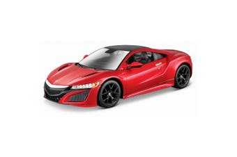 Maisto Tech 1:24 Assembly Line 36pc 2018 Acura NSX Model Car Building Kit 8y+