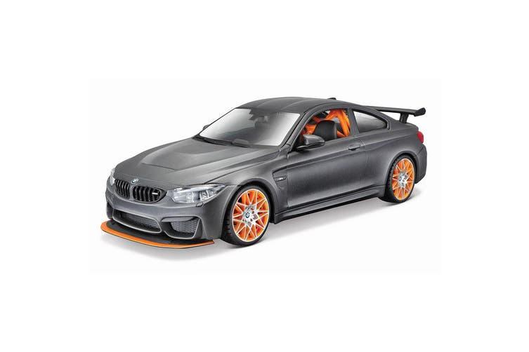 Maisto Tech 1:24 Assembly Line 37pc BMW M4 GTS Model Car Building Kit Kids 8y+