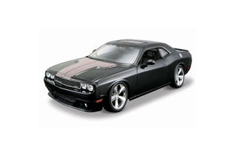 Maisto Tech 1:24 Assembly Line Dodge Challenger SRT8 Model Car Building Kit 8+