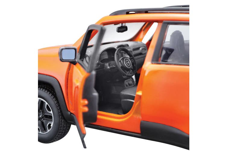 Maisto Tech 1:24 Assembly Line 35pc Jeep Renegade Model Car Kids Building Kit 8+