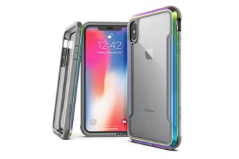X-Doria Defense Drop Case Protection Cover Protector for Apple iPhone X/Xs Irid