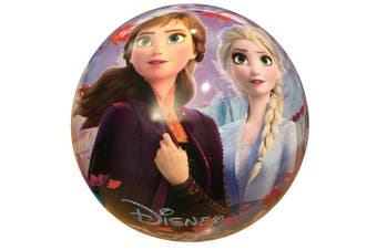 Disney Frozen 2 Kids 23cm Inflatable Rubber Ball Playball Outdoor Toy 3+ Blue