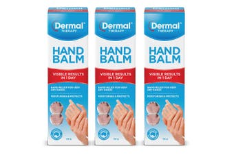 3x Dermal Therapy 50g Dry/Itchy/Sensitive Skin Care Hand Balm Moisturise Hydrate