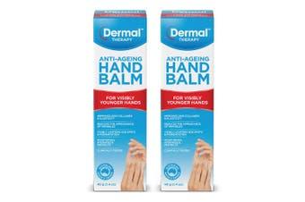 2x Dermal Therapy 40g Mature Anti-Ageing Skin Care Hand Balm Moisturiser Hydrate