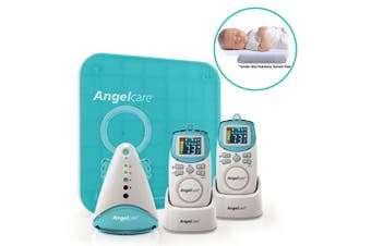 Angelcare AC401 Deluxe Sound/Mattress Movement Baby Monitor/Audio/Temperature