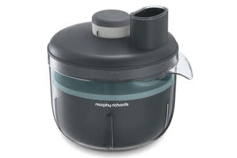 Morphy Richards PrepStar 450W Food Processor Grinder/Slicer/Chopper/Shredder GRY