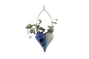 Natures Art 52cm Heart Hanging Pot Planter Flower/Plant Container Wall Decor