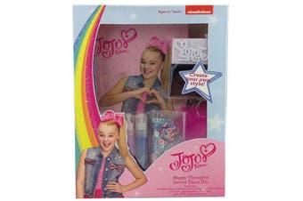 Jojo Siwa Happy thoughts Secret Diary Kit w/ Pen/Stickers/Journal/Sequins Girls