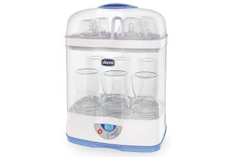 Chicco SterilNatural 3 in 1 Steriliser for Baby/Infant Feeding Bottles/Pacifier