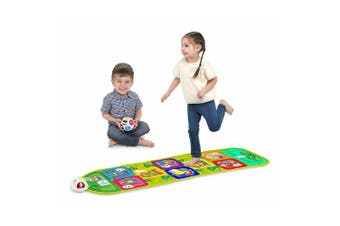 Chicco 150cm Jump & Play Fitness Mat/Hopscotch Kids Activity Musical Game 2-5y