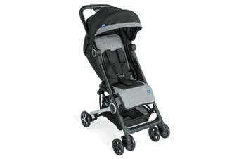 Chicco Miinimo Compact Travel Stroller Adjustable Pram f/ Baby/Infant Blacknight