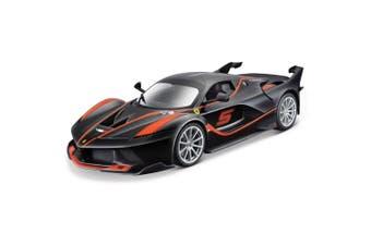 Bburago 1:18 Ferrari Race & Play FXX K #5 Car Diecast Vehicle Kids Toys Black
