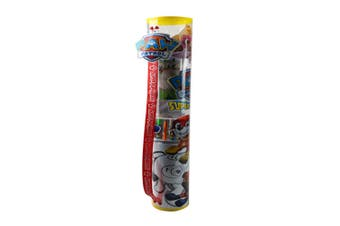 Paw Patrol Activity/Colouring Tube Art Craft Kit w/Sticker/Pencil/Poster 3y+