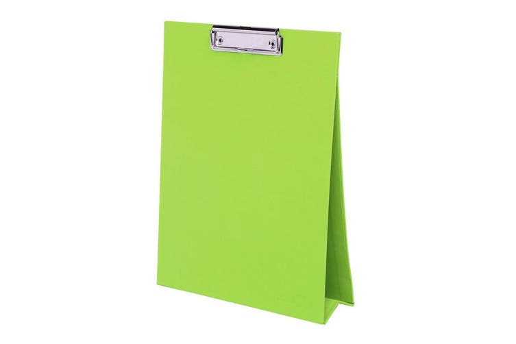 ColourHide A4 Paper Stand Up Clipboard/Whiteboard Document Writing Board Green