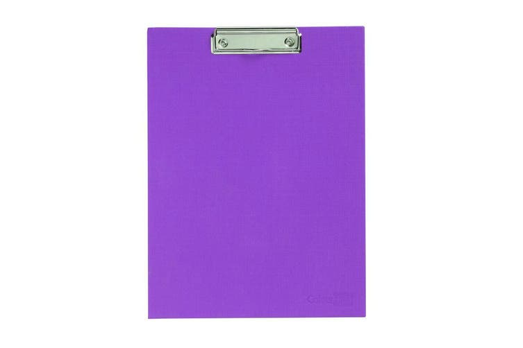 ColourHide A4 Paper Stand Up Clipboard/Whiteboard Document Writing Board Purple