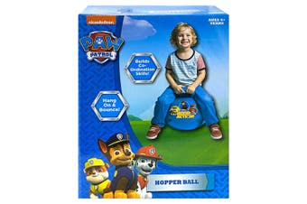 Paw Patrol Hopper Ball for Kids/Children Fun Bounce Outdoor Toy w/ Handle 4y+