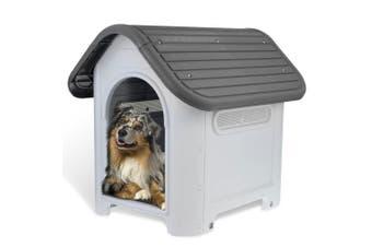 Paws & Claws 75cm x 66cm Outdoor Dog/Pets Kennel/House w/ Ventilation Medium